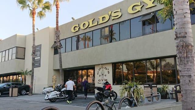 ロサンゼルスのゴールドジム1号店