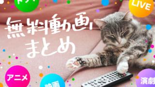 無料公開したドラマ、アニメなどの動画サービスまとめ!